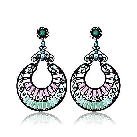 SaySure - Drop Earrings Statement Jewelry Fashion Earrings EA101524
