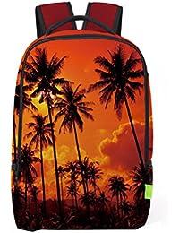 mochilas viaje, Sannysis mochilas escolares juveniles para chicas, Impresión en 3D (H)