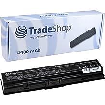 Trade de Shop Premium Batería de ion de litio 4400mAh para Toshiba Satellite A200A210A300L300, L300D, M205A205sustituye PA3534U PA3535U 1BAS PA3533U-1BAS PA3533U-1BRS PA3534U-1BAS PA3534U-1BRS PA3535U-1BAS PA3535U-1BRS PABAS098PABAS099