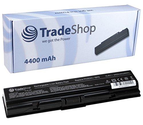 Hochleistungs Laptop Notebook Akku 4400mAh für TOSHIBA Dynabook AX T30 T31 Equium A200 L300 Satellite A200 A205 ersetzt PA3533U PA3534U-1BRS PA3535U-1BAS PA3535U-1BRS PABAS098 PABAS099 PA-3533-U -