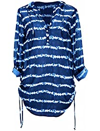 ANITA - robe de plage rosa faia mangaia vintage blue