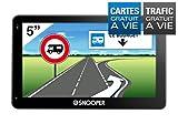 Snooper PL 5400 GPS Eléments Dédiés à la Navigation Embarquée Europe Fixe, 16:9...