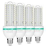 Ampoules LED E27, 20 W équivalent à 200 W, 1600 Lumen LED lampe Blanc Froid(6000k), Angle de Faisceau 360°, AC 85~265V