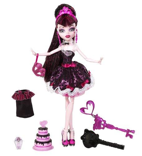 Mattel W9189 - Monster High Draculaura, Graf Draculas Tochter, ()