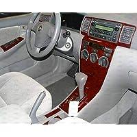 Toyota Corolla interior madera Dash Trim Kit Set 2003 2004 2005 ...