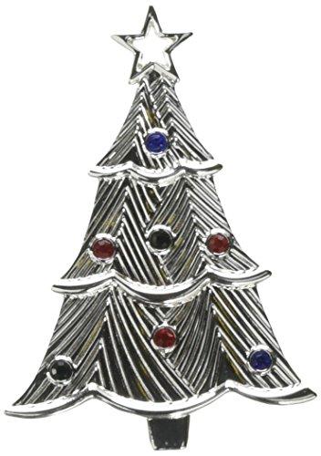 Lenox Edelsteinbesetztes Schneeflocke Ornament, silber Lenox Crystal Holiday Gems