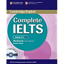Complete Ielts Bands 4-5 Workbook with Answers with Audio CD (Cambridge English)