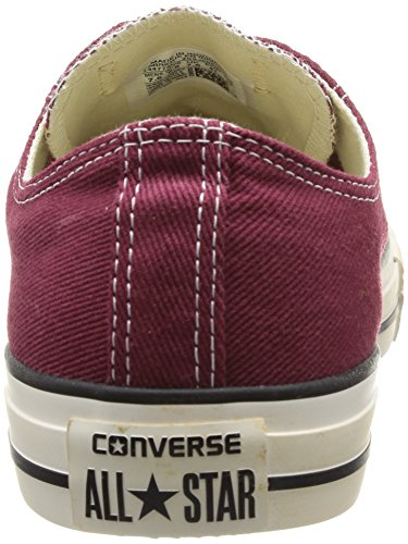 Taylor Kurzschaft Star All Chuck 18 Bordeaux Washed Herren Homme Stiefel Converse Rot Vintage Twill Ox 5qvUtxnnw