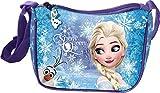 Star Licensing Disney Frozen Tracolla Regolabile Borsa Messenger, 19 cm, Multicolore