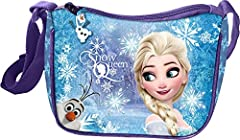 Idea Regalo - Star Licensing Disney Frozen Tracolla Regolabile Borsa Messenger, 19 cm, Multicolore