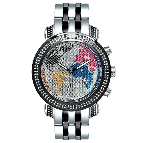 Joe Rodeo Diamant Homme Montre - TYLER noir 2 ctw