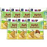 Hipp Apple orgánico pasteles de arroz, 7 cartón (7 x 35 g)