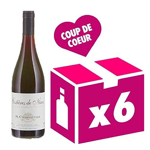 Chapoutier - Costières De Nimes - Collection Bio - Carton 6 Bts