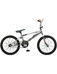 "20 'BMX Rooster Big Daddy Spoked Special Edition Rotor Pegs 20 ""Tube supérieur, chrom"