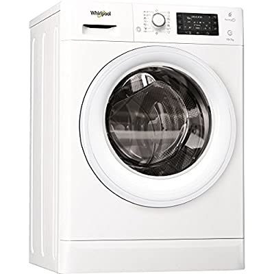 Whirlpool FWDD1071681W Washer Dryer in White by Whirlpool