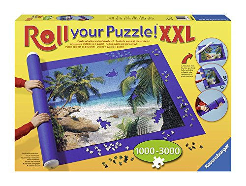 Ravensburger 17961 - Roll your Puzzle XXL - Puzzlerolle für 1000 - 3000 Teile Puzzles (Puzzlematte)