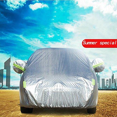 QXXZ Wasserdicht Auto Vollgarage Plane Für Auto Winter & Sommer