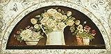 Artland Qualitätsbilder I Fine-Art Kunstdruck Wandbild Gemälde auf Holz - Größe 69 x 33 cm - Rosen Stillleben Arrangements A7YA