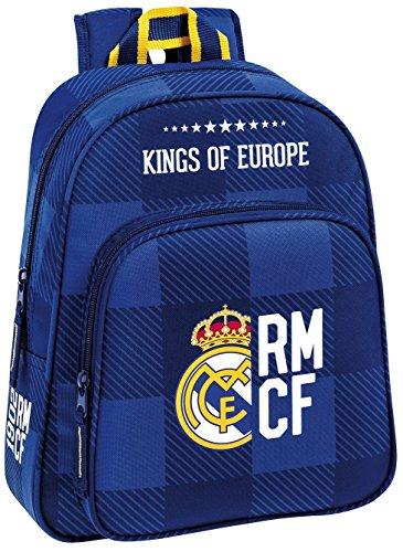 Safta Real Madrid Mochila Infantil, 34 cm, Azul