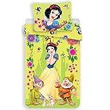 Biancaneve Disney - Parure da Letto - Copripiumino in Cotone