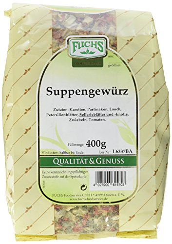 Fuchs Suppengewürz, 4er Pack (4 x 400 g)
