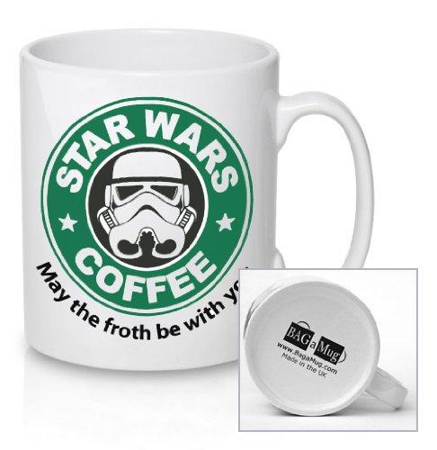 Star Wars Coffee, May The Froth Be With You–Keramik Tasse–New Einzigartig Geschenk für alle Anlässe