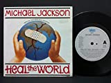 Michael Jackson Prelude / Heal The World Special Edition Poster Sleeve UK 45 7