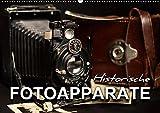 Historische Fotoapparate (Wandkalender 2019 DIN A2 quer): Nostalgische Bilder alter Fotoapparate erzählen die Geschichte der Fotografie aus früheren ... 14 Seiten ) (CALVENDO Hobbys)