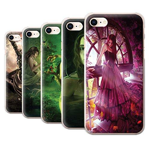 Officiel Elena Dudina Coque / Etui pour Apple iPhone 8 / Balançoire Étang Design / Un avec la Nature Collection Pack 15pcs