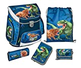 Scooli Schulranzen-Set - Dinosaur Life - Campus Up - 5 Teile