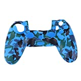 Cewaal Camouflage Silikon Gummi Soft Hülle Haut Griff Cover Case Für PS4 Controller