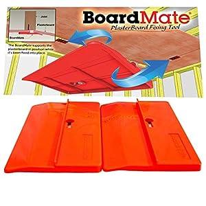 boardmate–yeso herramienta de montaje, soporta la junta en lugar al instalar