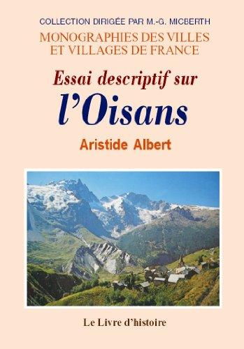 Essai descriptif sur l'Oisans