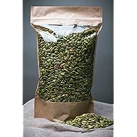 Semillas de calabaza sin procesar, libres de transgénicos, recolectadas del área orgánica (700gr)