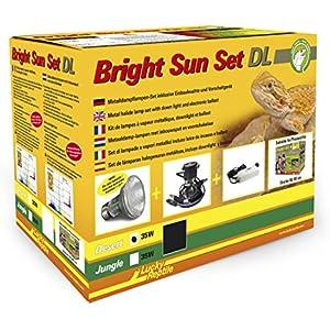 Lucky Reptile BSSDL-D35B Bright Sun Set  DL Desert 35 W, schwarz