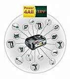 Bosch 18V Akku System Set mit Akku und Ladegerät (18 Volt System, 2,5 Ah) - 4