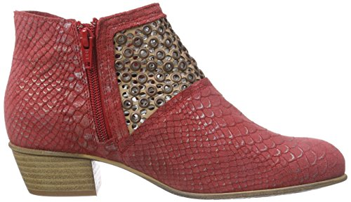 Dkode Nasya, Bottes Classics courtes, non doublées femme Rouge - Rot (Red 003)