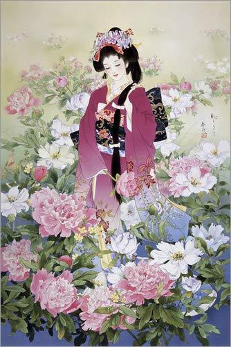 Posterlounge Cuadro Sobre Lienzo 80 x 120 cm: Syakuyaku de Haruyo Morita/MGL Licensing - Cuadro Terminado, Cuadro Sobre Bastidor, lámina terminada Sobre Lienzo auténtico, impresión en Lienzo