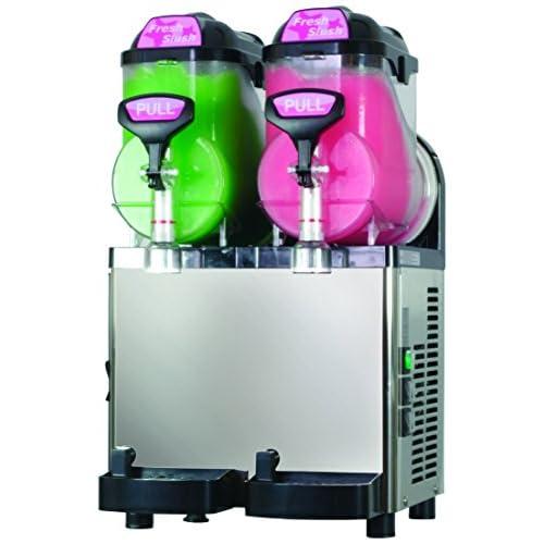 51huumetTTL. SS500  - Blue Ice Machines MI75x2 Slush Machine with 2 x 7.5 Litre Barrels