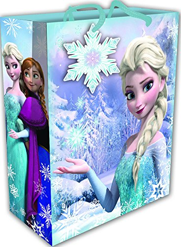 Carta da pacchi regalo tema cartone animato disney frozen