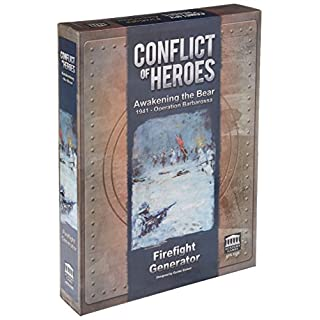 Academy Games ACA05105 Conflict Of Heroes Awakening Bear Firefight Generator Solo Expansion Board Game