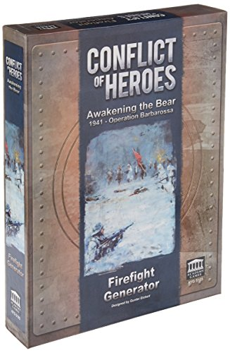 Conflict of Heroes: Awakening the Bear - Firefight Generator (Generator-schalter)