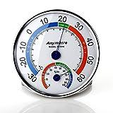 Zogin Termoigrometro Termometro Igromentro Misuratore di Temperatura e Umidità per Interni ed Esterni