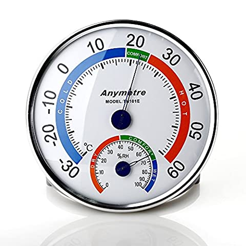 Zogin Thermo Hygromètre de Haute Précision Numérique Testeur de Température