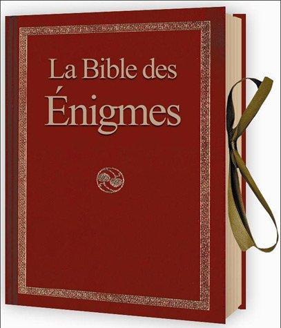 La Bible des énigmes par Elcy