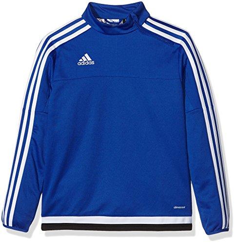 Adidas Maglietta da allenamento Bambini Felpa Tiro15Y Bold Blue/White/Black