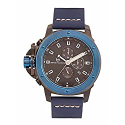 Sergio Tacchini ST.2.104.02 Leather Strap Chronograph Watch for men