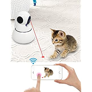 Jikan Pet Camera, Two Way Audio and Built-in LED Pointer Jikan Pet Camera, Two Way Audio and Built-in LED Pointer 51huy99pYmL
