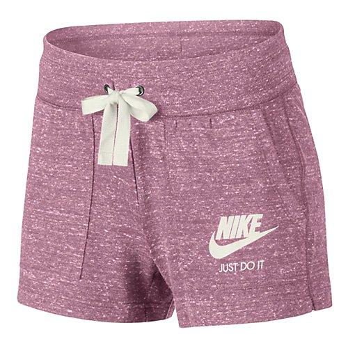 Nike Damen Sportswear Gym Vintage Shorts, Elemental Pink/Sail, S