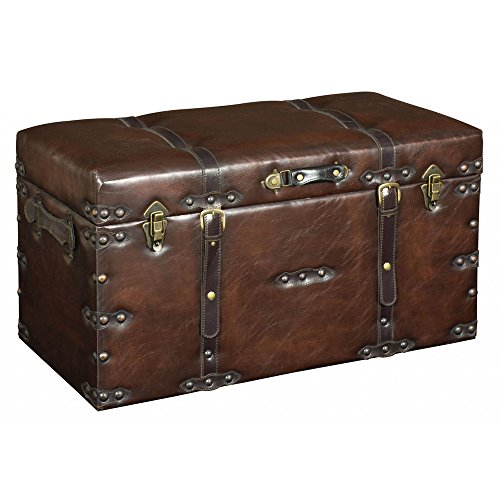faux-leather-look-large-storage-ottoman-trunk-case-brown